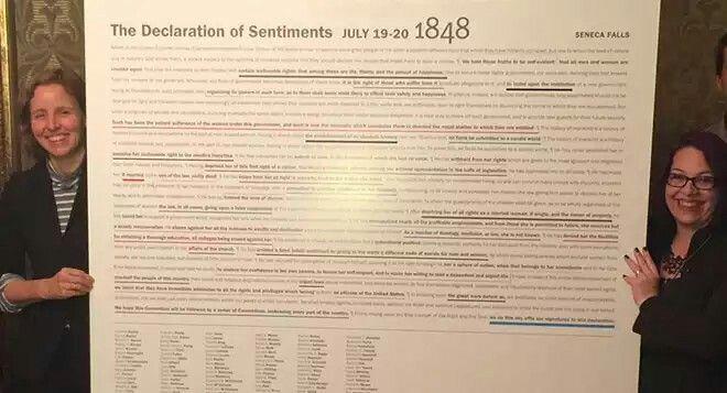 seneca falls declaration of sentiments pdf