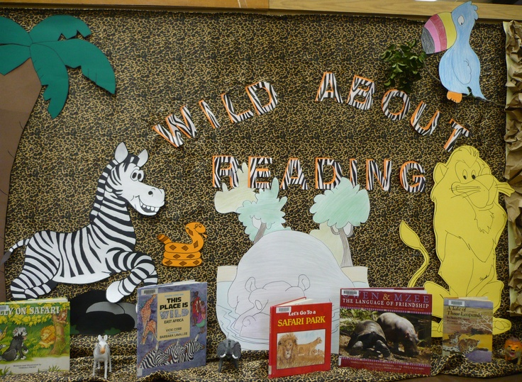 Wild About Reading Bulletin Board for Children's Room (Bulletin Boards)