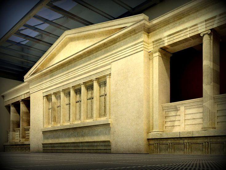 Aiges Macedonian Palace, ancient Aegai (Vergina) Macedonia Greece