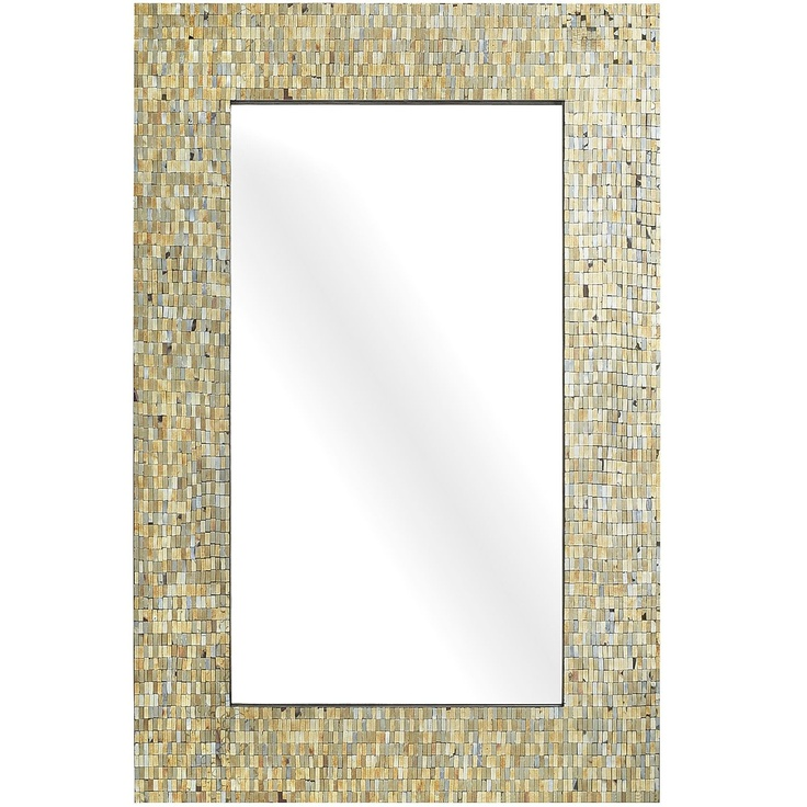 Mosaic Mirror...powder room mirror??
