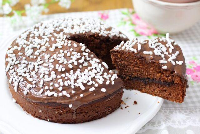 Ricetta Torta Al Cioccolato Di Benedetta.Torta Soffice Al Cioccolato Fatto In Casa Da Benedetta Dolci Dolci Al Cioccolato Torte