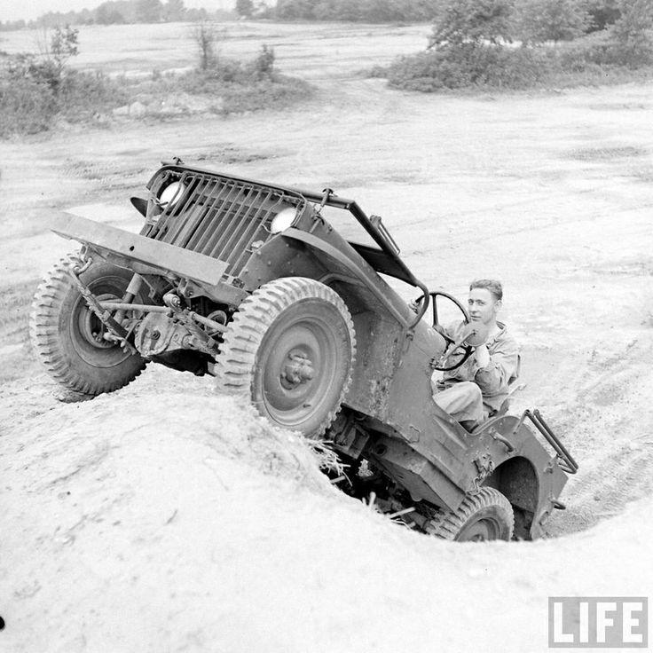 Life magazine jeep