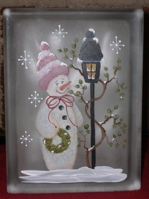 Designs by Cheryl Skalski-Packets & Glass Blocks
