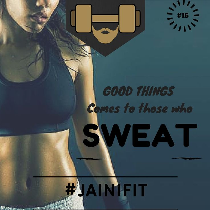 """""""Good things comes to those who SWEAT"""" #jainifit #motivationalquotes #15 #sweat #fitfam #fitspo #fitness #mcm #gymtime #treadmill #gainz #workout #getstrong #wcw #getfit #justdoit #youcandoit #fitinspiration #bodybuilding #cardio #ripped #gym #geekabs #shredded #abs #sixpacks #muscles #strong #lift #weights"""