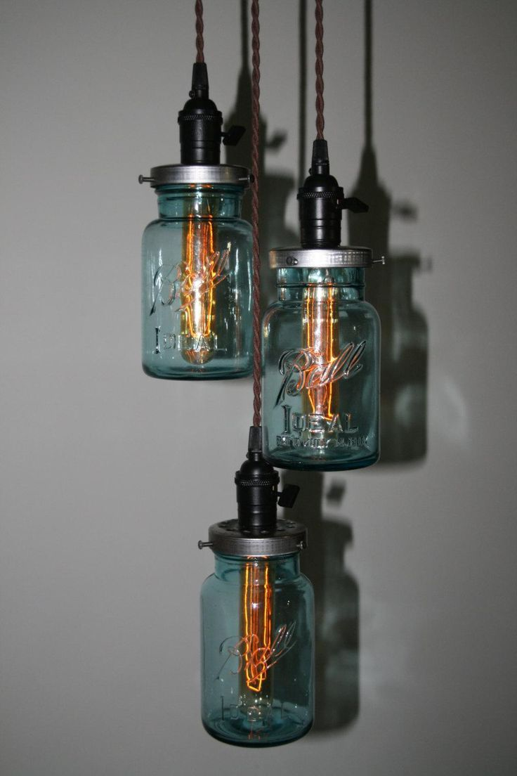 85 best custom chandeliers lamps images on pinterest chandelier just custom lighting listings view blue ball jar chandelier industrialized deluxe version with edison bulbs arubaitofo Image collections