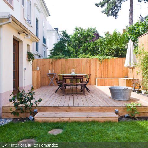 18 besten terrasse bilder auf pinterest verandas brennholz lagerung und schuppen. Black Bedroom Furniture Sets. Home Design Ideas
