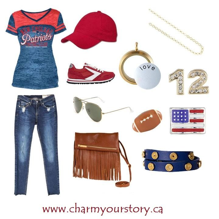 Score a fashion touchdown this Sunday! While your team is looking great on the field, what will YOU be wearing to cheer them on? Order today an have it delivered to you in time for #Gameday www.charmyourstory.ca #Superbowl #Patriots #Seahawks #NFL #Charmyourstory #Jewelry