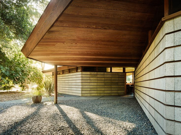 ... This Modern Glass And Redwood House, Originally Designed In 1950 By  Highly Regarded Bay Area Architect, Jack Hillmer, Was Restored To Its.
