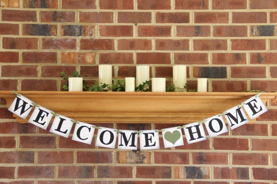 8 best images about welcome home ideas on pinterest for Military welcome home party decorations