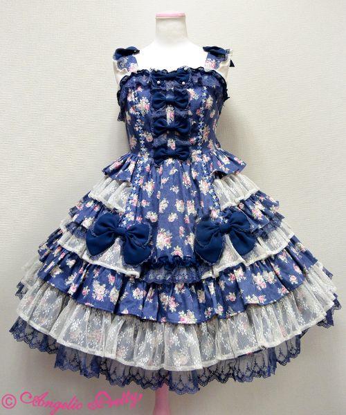 Angelic Pretty ファンシーローズジャンパースカート