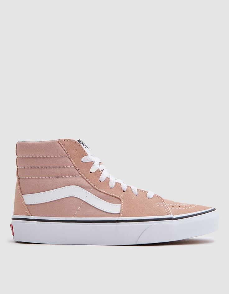 Sk8 Hi in Mahogany Rose/True White