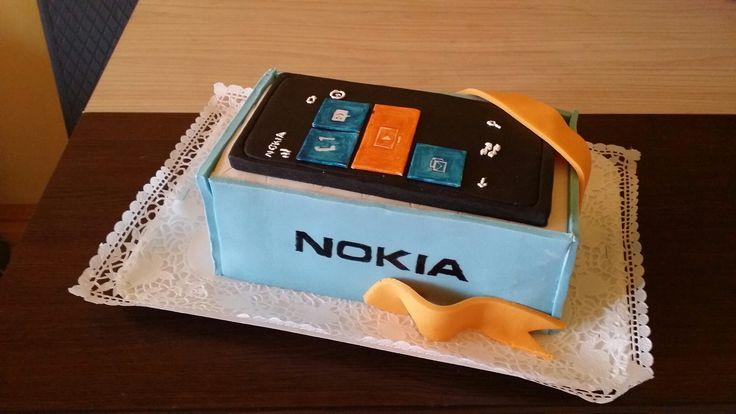 Nokia cake