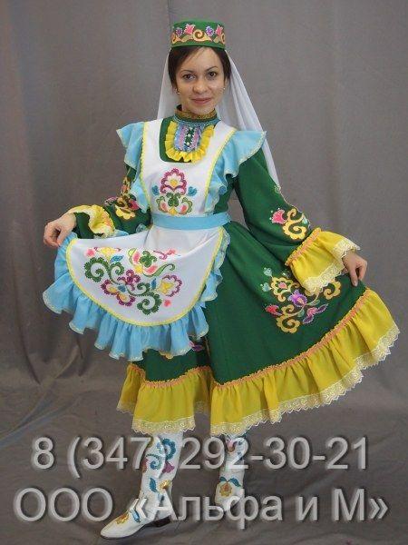 Как сделать татарский костюм для девочки в 2020 г   Костюм ...