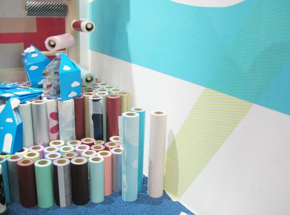 New...giant washi tape to cover walls