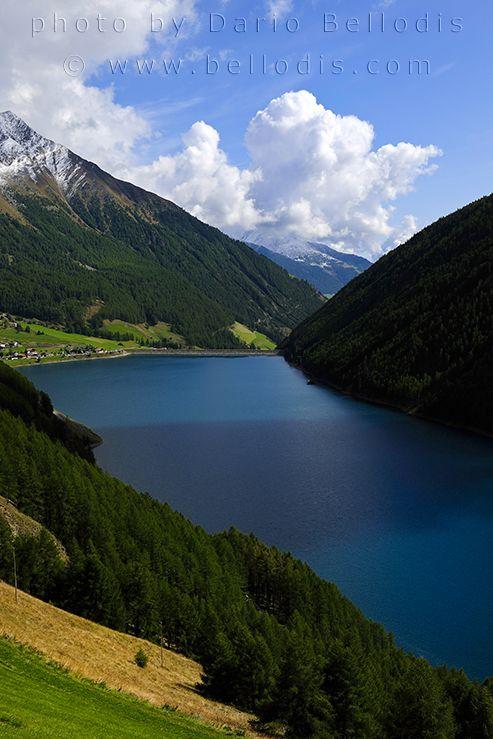 08T155  Lago di Vernago, Senales