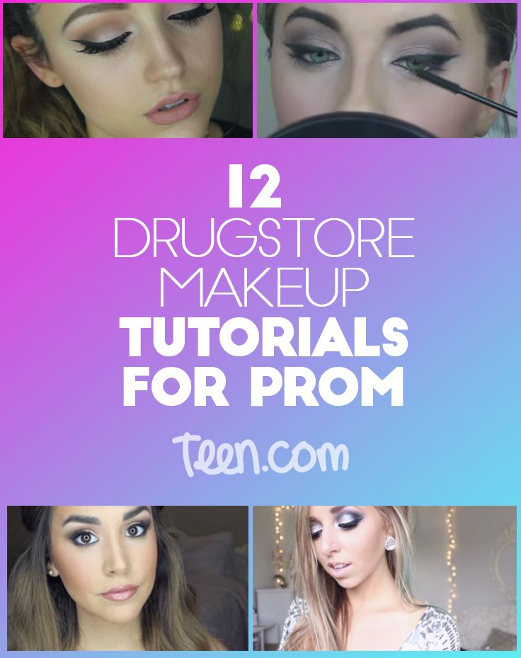 12 Gorgeous Prom Tutorials that Surprisingly Only Use Drugstore Makeup