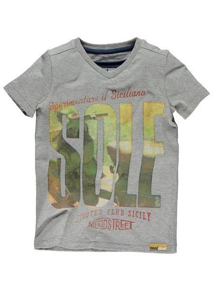 Moodstreet Moodstreet shirt Grijs melee Sole