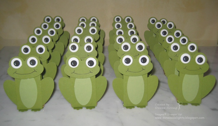 Frog Critters - something fun for the kids.    http://daneesdelights.blogspot.com/2012/03/frog-critters.html