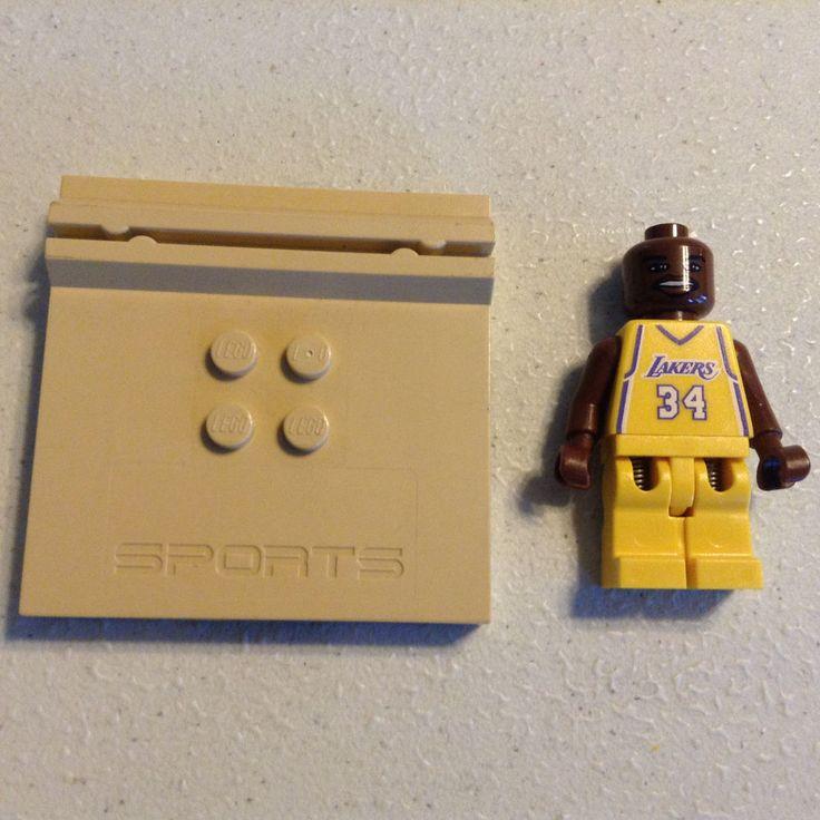 "Lego nba basketball 34 Шакил О 'Нил, Шакил Лос-Анджелес Лейкерс ""мини-фигурка редкая! | Игрушки и хобби, Конструкторы, Конструкторы LEGO | eBay!"
