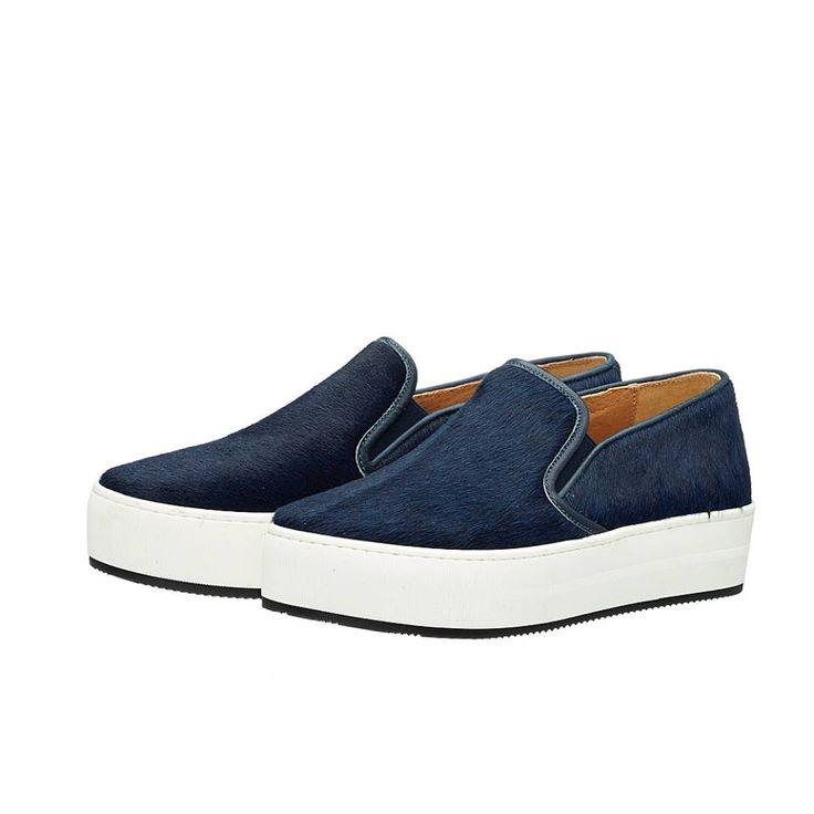 HELEN 1 PONY !! Τα δίπατα slip-on sneakers. Fashion trend της εποχής !!