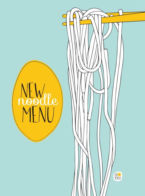 RINOMONSTA: Noodle menu