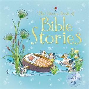 Usborne Book of Bible Stories, preschool, early reader, read-along CD, dual reader $24.99