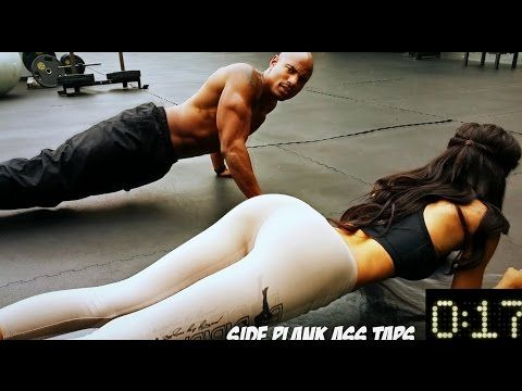 Awesome 4 Minute Abs Workout For men and women - YouTube  Get your fitness tees at www.ocelotee.com :)