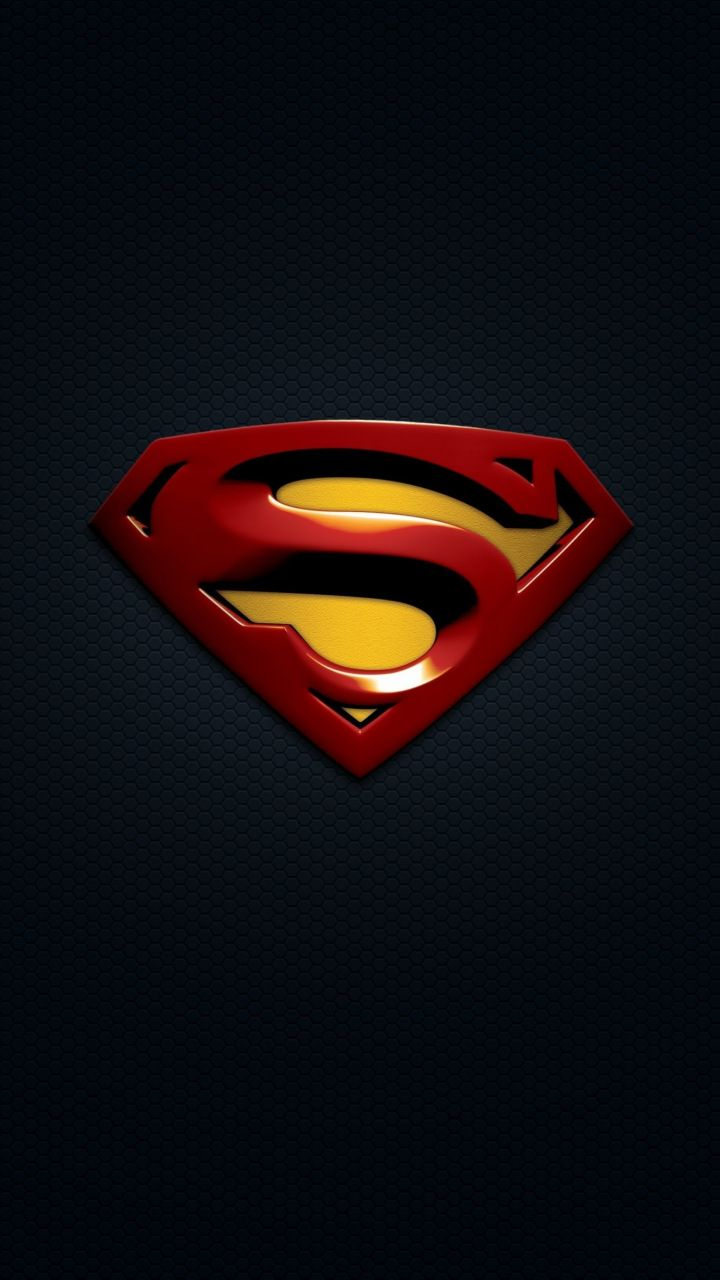 Superman Logo Minimal 720x1280 Wallpaper With Images