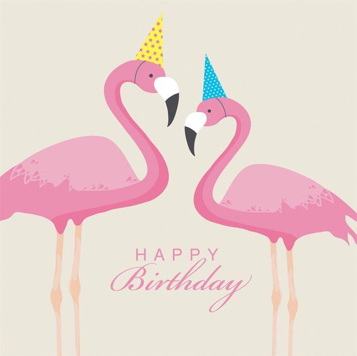 HBD flamingo