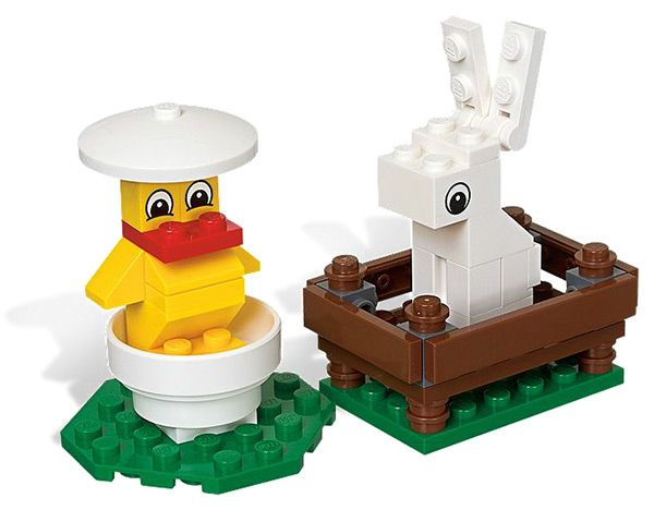 14 best lego lust images on pinterest lego creations lego sets bunny and chick easter lego set negle Image collections