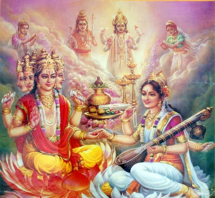 Lord Brahma and his Beautiful Creation of Universe ~ Amazing ..!!http://www.amazingbharat.com/2014/03/brahma-creator-of-universe.html