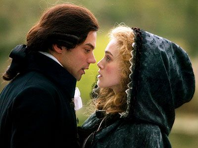 The Duchess-2008 Keira Knightley as Georgiana Cavendish Duchess of Devonshire with Dominic Cooper as her true love the 2nd Earl of Grey.
