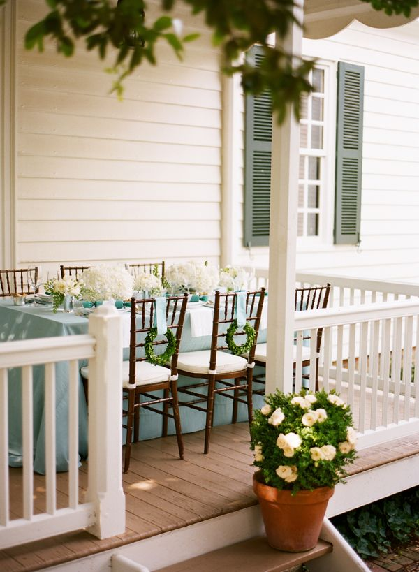 beautiful southern country wedding reception. Very casual and intimate for a small wedding.
