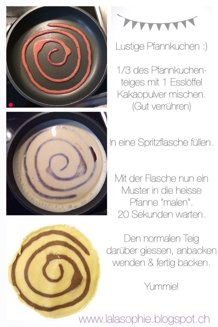 DIY Motiv-Pfannkuchen :)