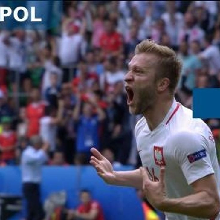 Switzerland vs Poland - Jakub Blaszczykowski scores a goal - UEFA EURO 2016 - Round of 16 - Match 1