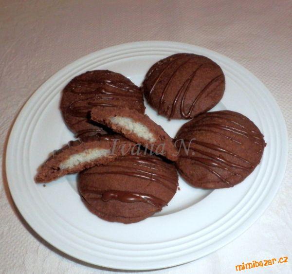 Sušenky s kokosovým sněhem