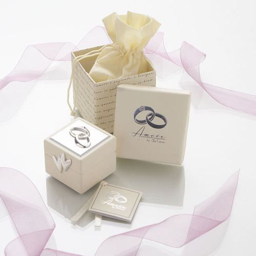 This Amore Wedding Rings Box Is A Great Alternative To Ring Cushion And Can Also Be Used After The Safely