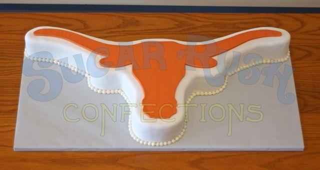 Texas Longhorn Groom's Cake
