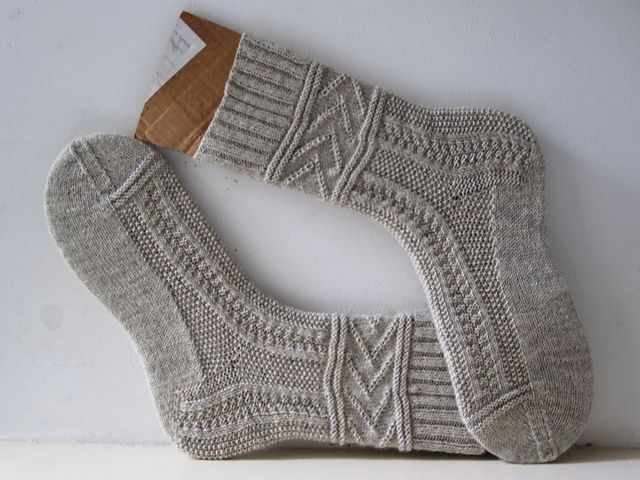 Free - use Gansey knit/purl patterns for socks Ravelry: Gladys pattern by General Hogbuffer
