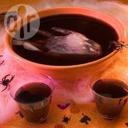 Ponche negro para o Halloween @ allrecipes.com.br