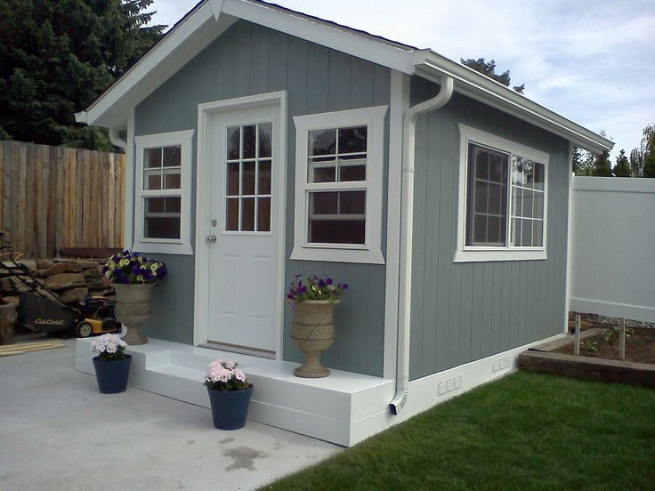 Custom built garden shed mother in law home playhouse for Mother in law cabins
