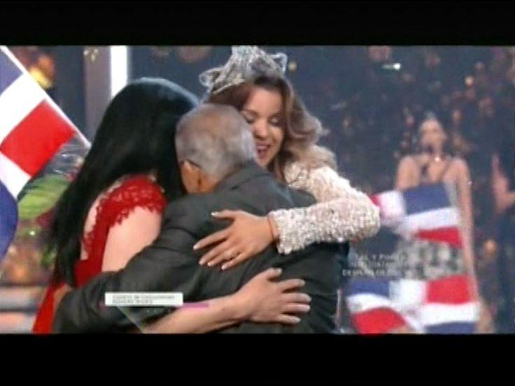 Momento En Que La Dominicana Clarissa Molina Gana Nuestra Belleza Latina 2016