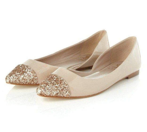 42 Pairs Of Wedding Flats To Keep You Comfy & Cute On Your Big Day. Flat  Wedding ShoesFlat ShoesLeather Ballet ...