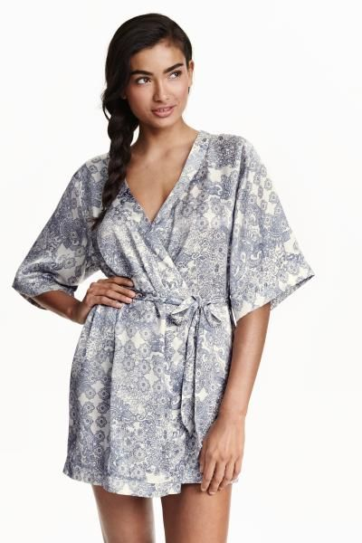 Kimono en satin | H&M