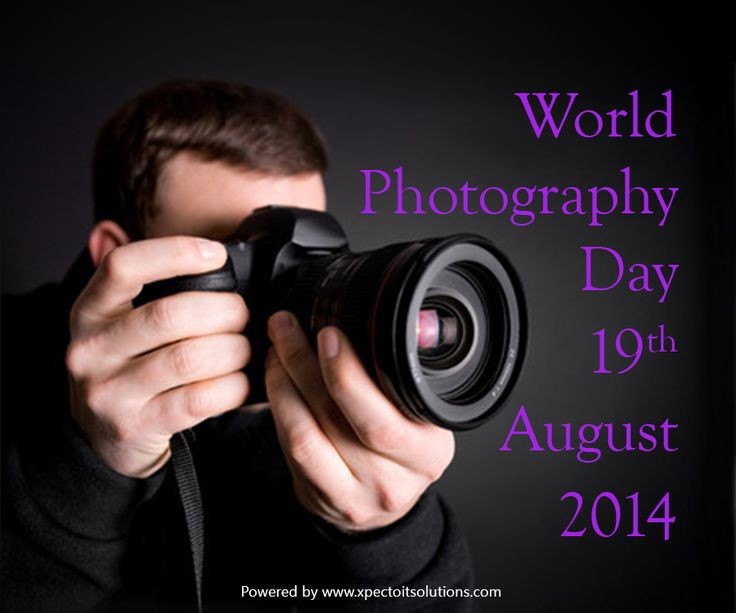 Today is World Photography Day