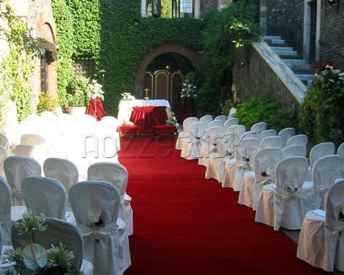 Tappeto Matrimonio Azzurro : Il tappeto rosso a castello della spizzichina roma