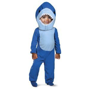 baby shark costume shark bait tiny treats toddler - Halloween Costume Shark