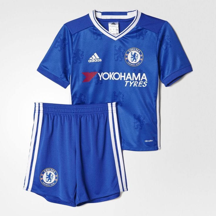 #Shirt home chelsea 2017 kids youth #football shorts boys hazard #diego costa chi,  View more on the LINK: 	http://www.zeppy.io/product/gb/2/322277567710/