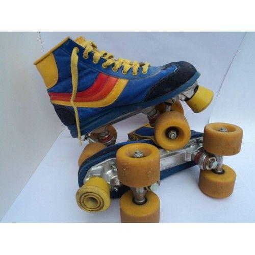 Vintage Disco 80's roller skates boots size 5/6