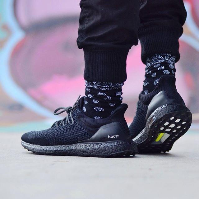 adidas ultra boost herren all black